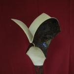 Driehoeksvogel paars