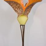 Driehoeksvogel in oranje